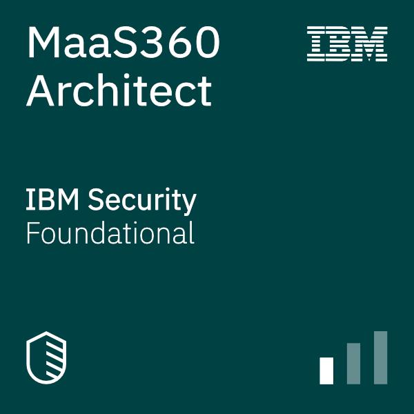 MaaS360 Architect badge