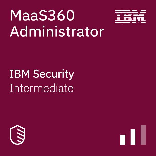 MaaS360 Administrator badge