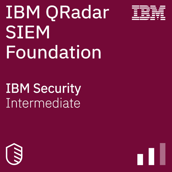 QRadar SIEM Foundations badge logo