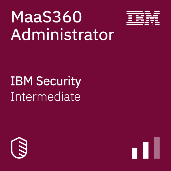 MaaS360 Administrator badge logo