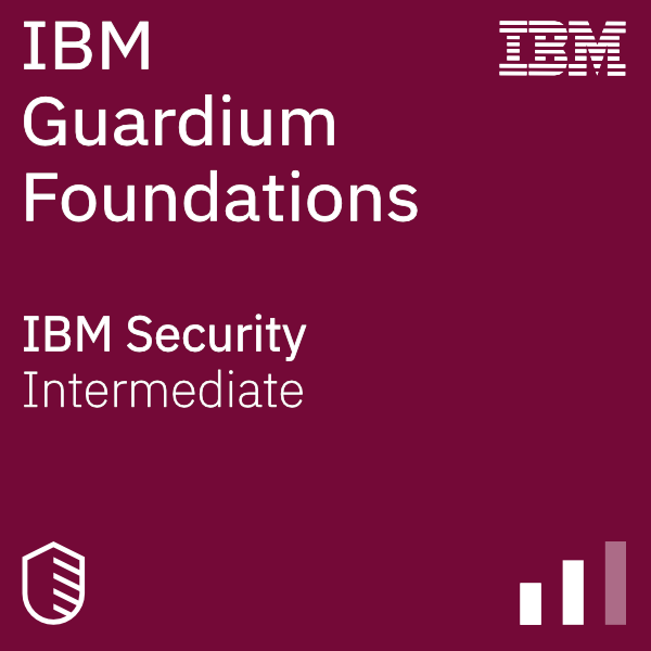 Guardium Foundations badge logo