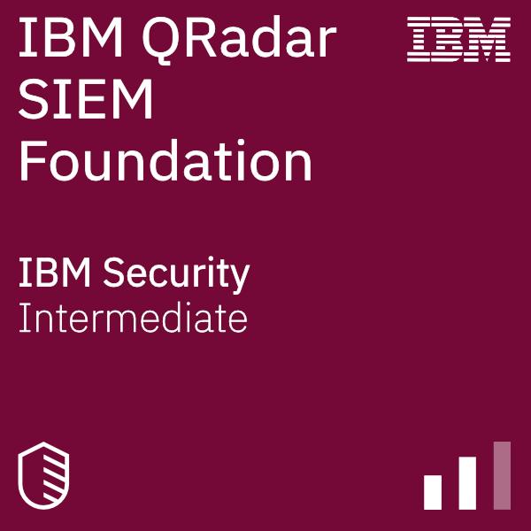 QRadar SIEM Foundations badge logo